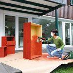 Bosch Pistolet à peinture pour bois et lasures, peinture murale, vernis et laques Universal PFS 3000-2 avec godet 1000ml, 2 buses, sacoche et ceinture 0603207100 de la marque Bosch image 3 produit