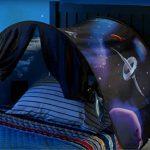 BOYKO Magical World Tente de Jeu Lit Enfant Intérieur Rêve pour Fille Garçon Kid's Fantasy House (aventure spatiale) de la marque BOYKO image 2 produit
