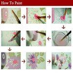 Bricolage numérique toile peinture à l'huile de décoration en nombre Kits 16 * 20 pouces-E863 de la marque nadamuSun image 3 produit