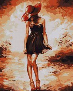 Bricolage numérique toile peinture à l'huile de décoration en nombre Kits 16 * 20 pouces de la marque nadamuSun image 0 produit