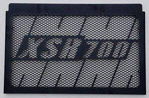 cache radiateur/grille de radiateur 700 XSR design Kenny Roberts noir mat satiné + grillage anti gravillon noir de la marque Wiltuning image 0 produit
