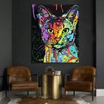 Cadre en bois, Peinture par numéros Peinture à l'huile de bricolage Peinture à l'huile de lion de la marque Rihe image 2 produit