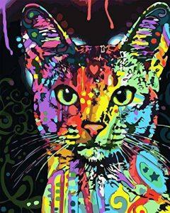 Cadre en bois, Peinture par numéros Peinture à l'huile de bricolage Peinture à l'huile de lion de la marque Rihe image 0 produit