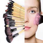 Cadrim Pinceaux Maquillage Cosmétique Professionnel 24pcs Set/Kit Cosmétique Brush Beauté Maquillage Brosse Makeup Brushes Cosmétique Fondation avec Sac de la marque Cadrim image 6 produit