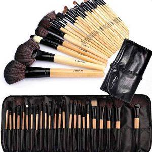 Cadrim Pinceaux Maquillage Cosmétique Professionnel 24pcs Set/Kit Cosmétique Brush Beauté Maquillage Brosse Makeup Brushes Cosmétique Fondation avec Sac de la marque Cadrim image 0 produit