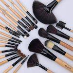 Cadrim Pinceaux Maquillage Cosmétique Professionnel 24pcs Set/Kit Cosmétique Brush Beauté Maquillage Brosse Makeup Brushes Cosmétique Fondation avec Sac de la marque Cadrim image 1 produit