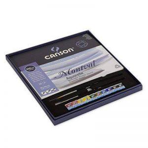 Canson Aquarelle Montval Papier aquarelle 12 feuilles 19 x 24 cm Blanc de la marque Canson image 0 produit