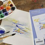 Canson Bloc 200005789 Papier aquarelle Blanc de la marque Canson image 2 produit