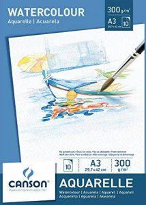 Canson Bloc 200005790 Papier aquarelle Blanc de la marque Canson image 0 produit