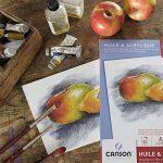 Canson Bloc Huile/Acrylique 200005786 Papier à dessin Blanc de la marque Canson image 1 produit