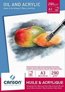 Canson Bloc Huile/Acrylique 200005786 Papier à dessin Blanc de la marque Canson image 0 produit