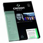 Canson InFinity Aquarelle Rag Papier Photo Ramette de 25 Feuilles 240g A4 Blanc Naturel de la marque Canson image 1 produit