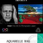 Canson InFinity Aquarelle Rag Rouleau Papier Photo 240 g 0,610 x 15,24 m Blanc Naturel de la marque Canson image 1 produit