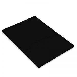 Canson Iris Vivaldi Papier couleur A4 Lisse 185g/m² 21 x 29,7 cm Noir Lot de 50 de la marque Canson image 0 produit