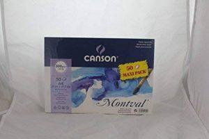 Canson Montval 50Maxipack A4300g/m² Papier aquarelle Lot de la marque Canson image 0 produit
