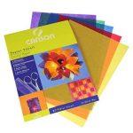 CANSON papier 200992700cristal 21x 29,7cm A4Rouge/jaune/bleu/violet/vert foncé, 40g/m² de la marque Canson image 1 produit