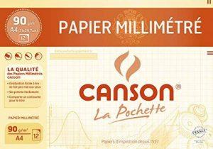 Canson Papier à dessin 12 feuilles A4 21 x 29,7 cm Bistre de la marque Canson image 0 produit