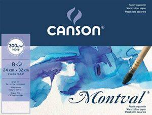 Canson Pochette Beaux Arts 400056376 Papier à dessin Grain Fin Blanc Naturel de la marque Canson image 0 produit