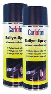 Carlofon 40707Roue Spray Noir satiné mat 400ml Lot de 2 de la marque Carlofon image 0 produit