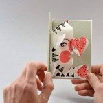 """Chat !"" Carte Pop Up - Pop Up Card - Carte 3 D - Livre d'artiste de la marque Nabarus image 2 produit"
