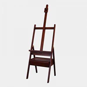 Chevalets Croquis en bois dessin chevalet pliant Tiroir pratique 4k toile dessin cadre peinture (Taille: 45 * 45 * 150-190cm) chevalet peinture ( Couleur : A ) de la marque Easels A image 0 produit