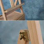 Chevalets Croquis en bois dessin chevalet pliant Tiroir pratique 4k toile dessin cadre peinture (Taille: 45 * 45 * 150-190cm) chevalet peinture ( Couleur : A ) de la marque Easels A image 4 produit