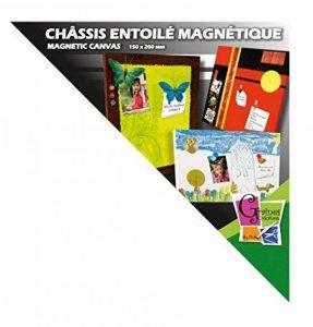 Châssis entoilé magnétique - Rectangle - 30x40 cm - Graines créatives de la marque Graine Créative image 0 produit