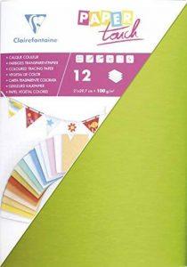 Clairefontaine 240499C Boite 80 feuilles Calque couleur 21x29,7cm Couleurs assorties de la marque Clairefontaine image 0 produit
