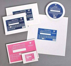 Clairefontaine 34173C Prêt à peindre carton toilé Ø 30cm 3mm Blanc de la marque Clairefontaine image 0 produit