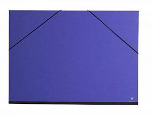 Clairefontaine 44402C Carton à dessin Couleur élastiques 52x72cm Indigo de la marque Clairefontaine image 0 produit