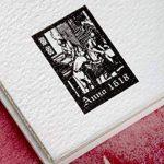 Clairefontaine 96349C Fontaine Aquarelle bloc collé 1 côté 12F 24x30cm 300g grain satiné Blanc de la marque Clairefontaine image 4 produit