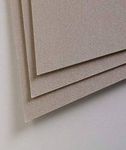 Clairefontaine Pastelmat Feuilles, gris foncé, 50x 70cm, 360g, Lot de 5 de la marque Clairefontaine image 0 produit