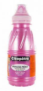 Cléopâtre - PAM250-10N - Peinture Acrylique Princess Merit - Nacrée Rose - Flacon 250 ml de la marque Cléopâtre image 0 produit