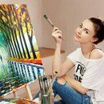 Coffret peinture acrylique – 24 Tubes de 12 ml – Peinture à l'eau Idéale pour tous les Supports – Adapté à la Pâte à Sel, à la Peinture sur Toile et sur Plastique - MozArt Supplies de la marque MozArt Supplies image 4 produit