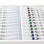 Coffret peinture acrylique – 24 Tubes de 12 ml – Peinture à l'eau Idéale pour tous les Supports – Adapté à la Pâte à Sel, à la Peinture sur Toile et sur Plastique - MozArt Supplies de la marque MozArt Supplies image 1 produit