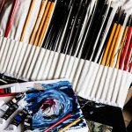 Colore - Ensemble de Peinture à l'huile de haute qualité - Parfait pour l'utilisation sur les Peintures de Paysage et les Portraits sur toile - Idéal pour les artistes professionnels, les étudiants et les débutants - Ensemble de 24 couleurs de peinture à image 2 produit
