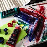 Colore- Ensemble de peinture acrylique - Ensemble de peinture de qualité professionnelle pour la peinture, toile, tissu, argile, art d'ongle, artisanat et céramique - super pour les enfants et adultes - 12 Tubes très grands, 75mL (2.5 oz). de la marque Co image 2 produit