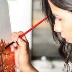Colore- Ensemble de peinture acrylique - Ensemble de peinture de qualité professionnelle pour la peinture, toile, tissu, argile, art d'ongle, artisanat et céramique - super pour les enfants et adultes - 12 Tubes très grands, 75mL (2.5 oz). de la marque Co image 4 produit