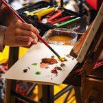 Colore- Ensemble de peinture acrylique - Ensemble de peinture de qualité professionnelle pour la peinture, toile, tissu, argile, art d'ongle, artisanat et céramique - super pour les enfants et adultes - 12 Tubes très grands, 75mL (2.5 oz). de la marque Co image 3 produit