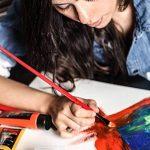 Colore- Ensemble de peinture acrylique - Ensemble de peinture de qualité professionnelle pour la peinture, toile, tissu, argile, art d'ongle, artisanat et céramique - super pour les enfants et adultes - 12 Tubes très grands, 75mL (2.5 oz). de la marque Co image 6 produit