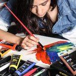 Colore- Ensemble de peinture acrylique - Ensemble de peinture de qualité professionnelle pour la peinture, toile, tissu, argile, art d'ongle, artisanat et céramique - super pour les enfants et adultes - 12 Tubes très grands, 75mL (2.5 oz). de la marque Co image 5 produit