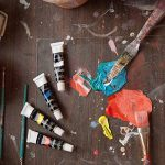 Colore - Ensemble de Peinture acrylique - parfait pour toile de peinture, d'argile, tissu, Art d'ongle et céramique - pigments riches avec la qualité durable - Idéal pour les débutants, les étudiants et artiste professionnel - 24 couleurs de la marque Col image 2 produit
