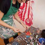 Colore - Ensemble de Peinture acrylique - parfait pour toile de peinture, d'argile, tissu, Art d'ongle et céramique - pigments riches avec la qualité durable - Idéal pour les débutants, les étudiants et artiste professionnel - 24 couleurs de la marque Col image 3 produit