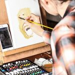 Colore - Ensemble de Peinture à l'huile de haute qualité - Parfait pour l'utilisation sur les Peintures de Paysage et les Portraits sur toile - Idéal pour les artistes professionnels, les étudiants et les débutants - Ensemble de 24 couleurs de peinture à image 4 produit