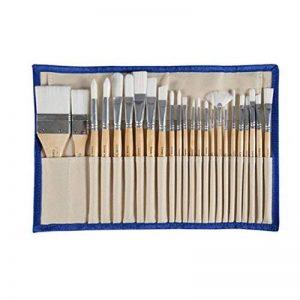 Conda 24 mince pinceaux de peinture set brosse professionnelle avec étui pour peinture à l'huile aquarelle acrylique de la marque Conda image 0 produit