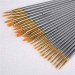 Conda 50pcs détail Ensemble de brosse pour acrylique, huile, aquarelles de la marque Conda image 2 produit