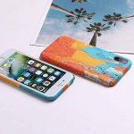 Coque iPhone 8 Plus / iPhone 7 Plus, Créativité Lumineux Peinture à l'huile Pattern Etui Housse, Antichoc Anti-Scratch Dur PC Back Panel pour Apple iPhone 8 Plus / iPhone 7 Plus (5.5 pouce) (Couleurs 4#) de la marque NiuSY image 3 produit
