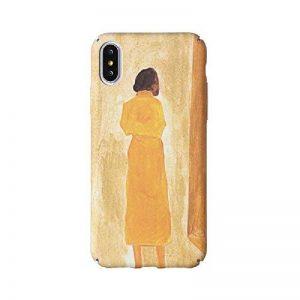 Coque iPhone 8 Plus / iPhone 7 Plus, Créativité Lumineux Peinture à l'huile Pattern Etui Housse, Antichoc Anti-Scratch Dur PC Back Panel pour Apple iPhone 8 Plus / iPhone 7 Plus (5.5 pouce) (Couleurs 2#) de la marque NiuSY image 0 produit