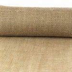 Cordon en jute chemin de table / Ruban de table, naturel, largeur 30cm, rouleau de 10m de la marque ALJO DESIGN image 1 produit