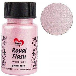 """'Couleur Métallique """"Royal flash, Rose Pastel, 50ml de la marque Ideen mit Herz image 0 produit"""
